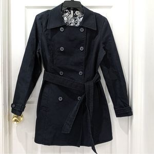 Old Navy Floral Interior Peacoat
